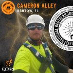 Cameron Alley- Hard Hat Hero January