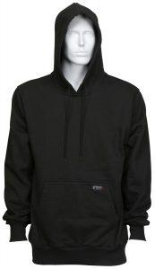 Flame Resistant FR Hoodies Sweatshirt - Black Color