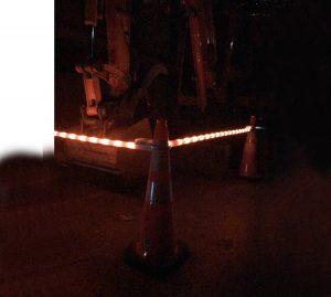 Lighted Traffic Cone Bar