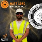 Matt Lord - Hard Hat Hero October