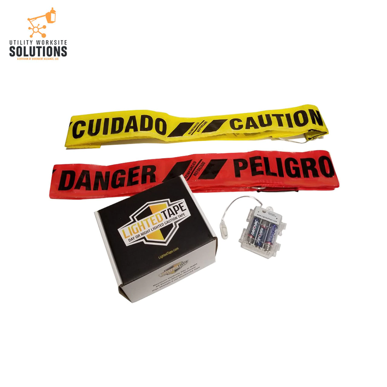 Reusable Caution Tape with LED
